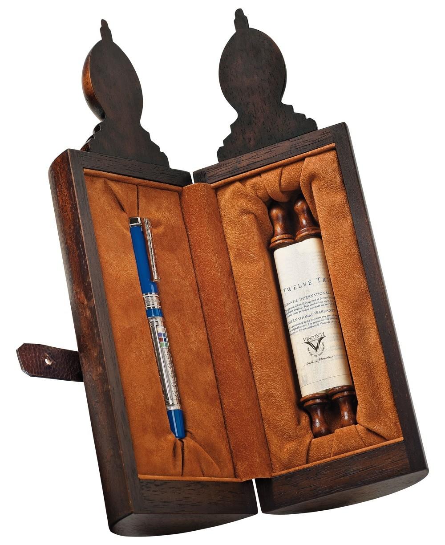 Ручка перьевая Visconti 12 колен Израилевых