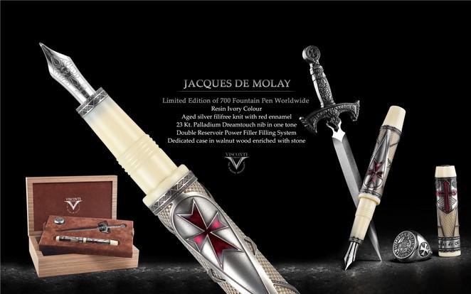 Перьевая ручка Visconti Jacques de Molay