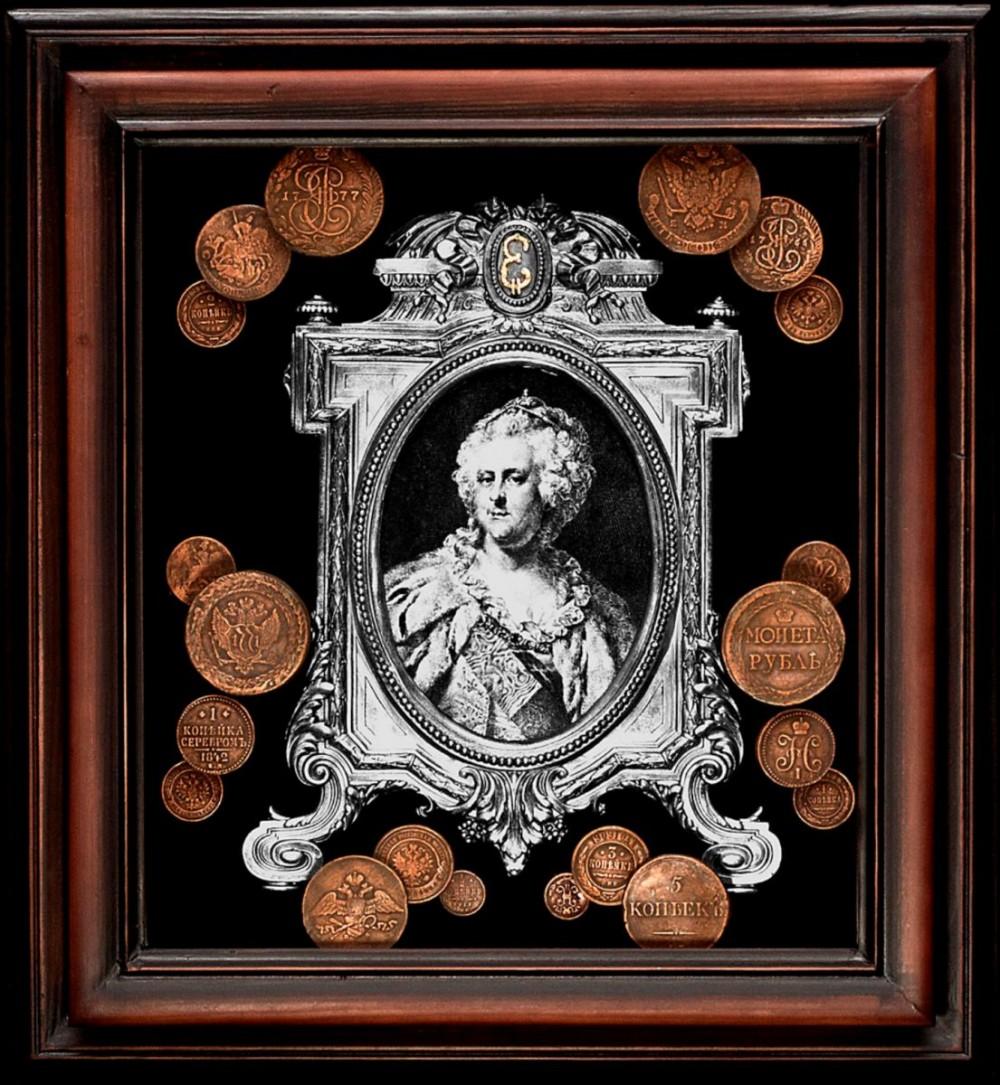 Панно «Екатерина II»