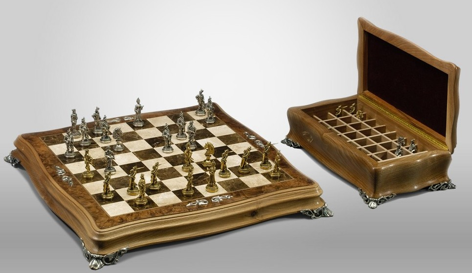 Шахматы «Ореховые»