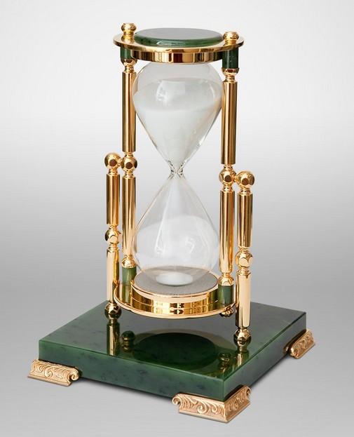 Нефритовые песочные часы на 30 минут