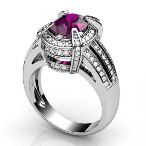 Кольцо с рубином «La passione»