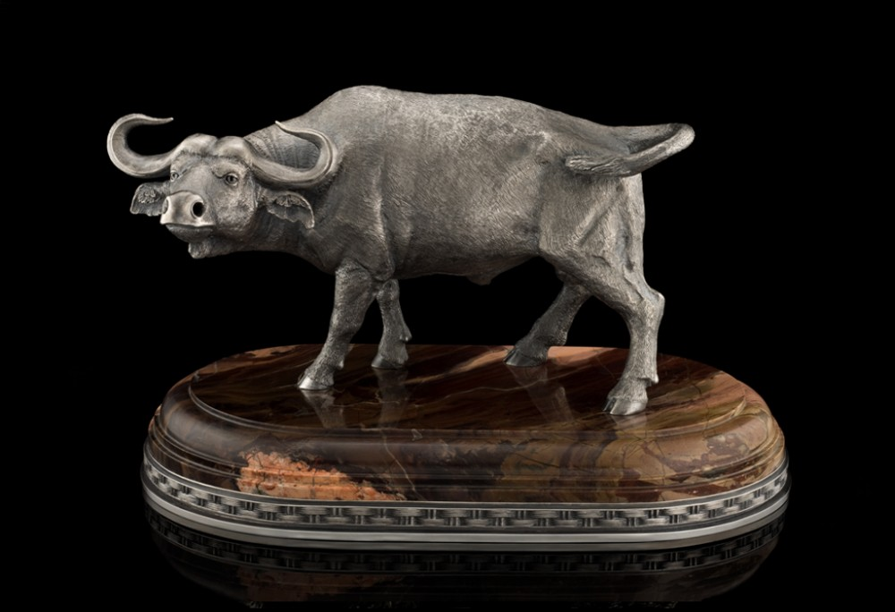 Буйвол (серебро, длина 22 см)