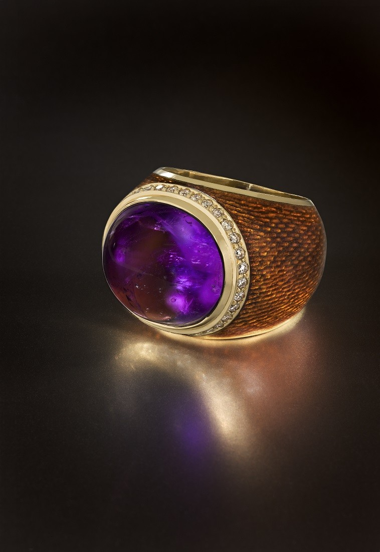 Перстень Аметист