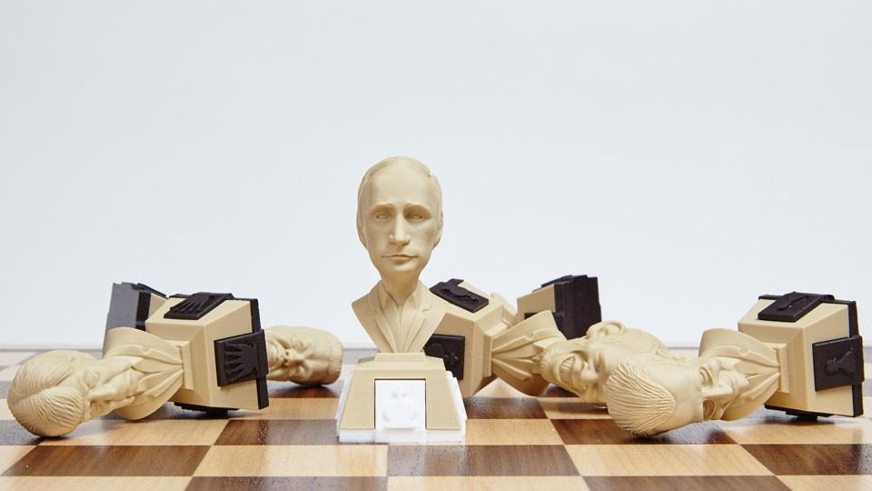Шахматы Политические лидеры