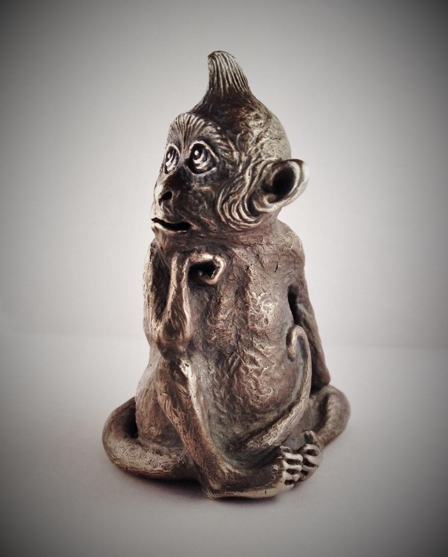 Серебряная обезьянка