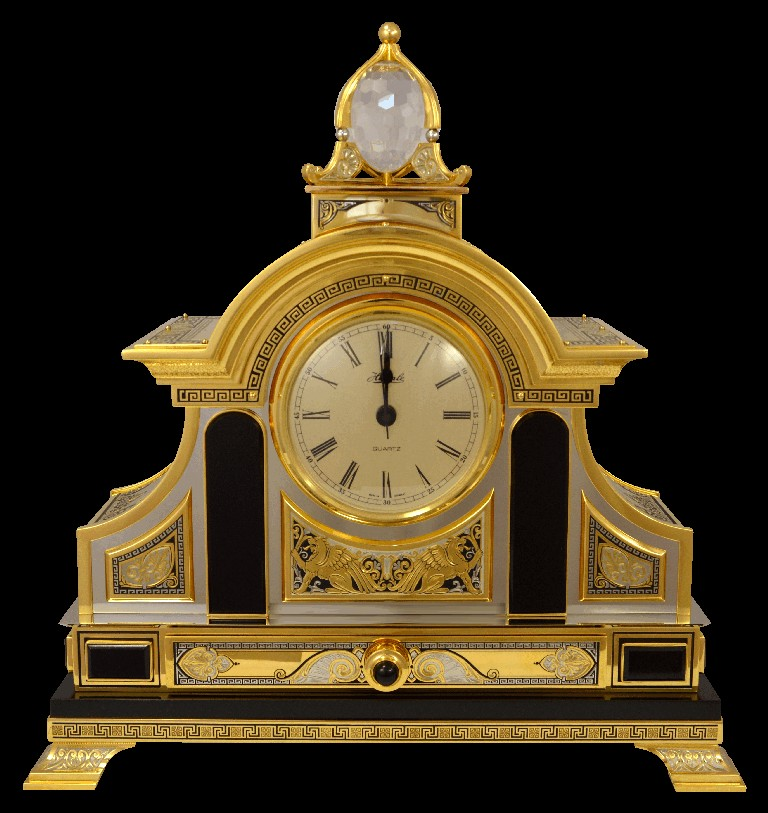 Часы и 2 канделябра