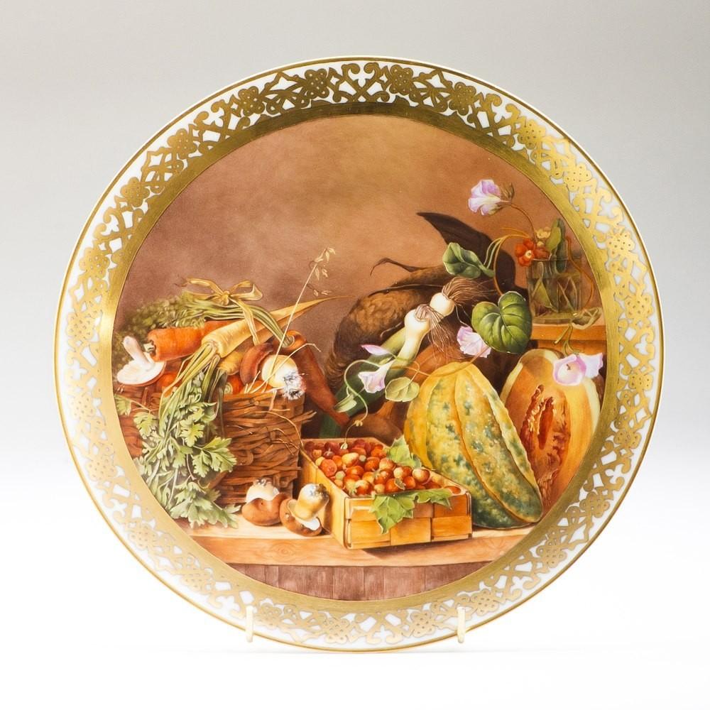 Декоративная тарелка Осенние мотивы