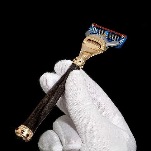 Бронзовый мужской станок для бритья