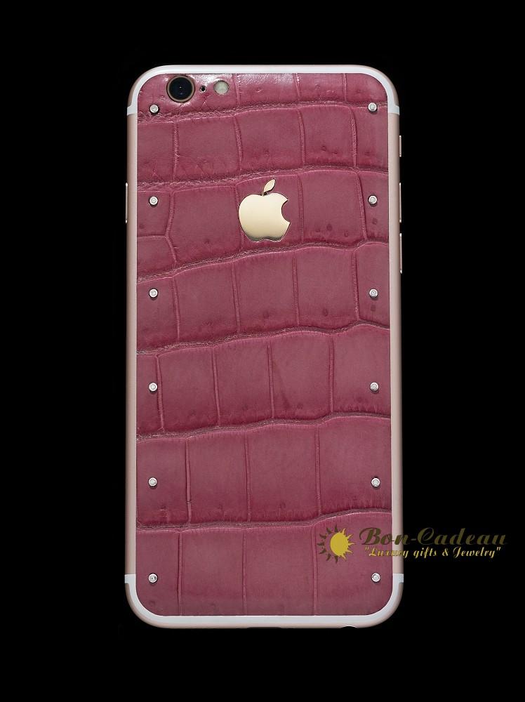 iPhone 11 Glamor с бриллиантами и золотом