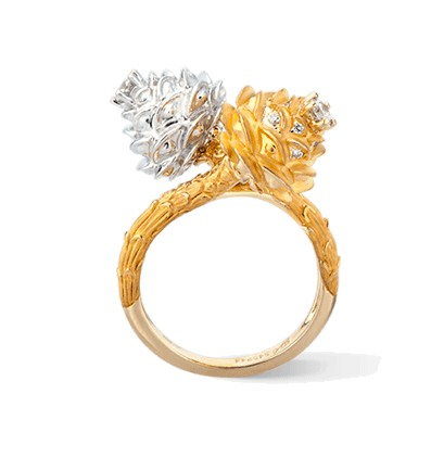 Carrera y Carrera кольцо Savia Medium