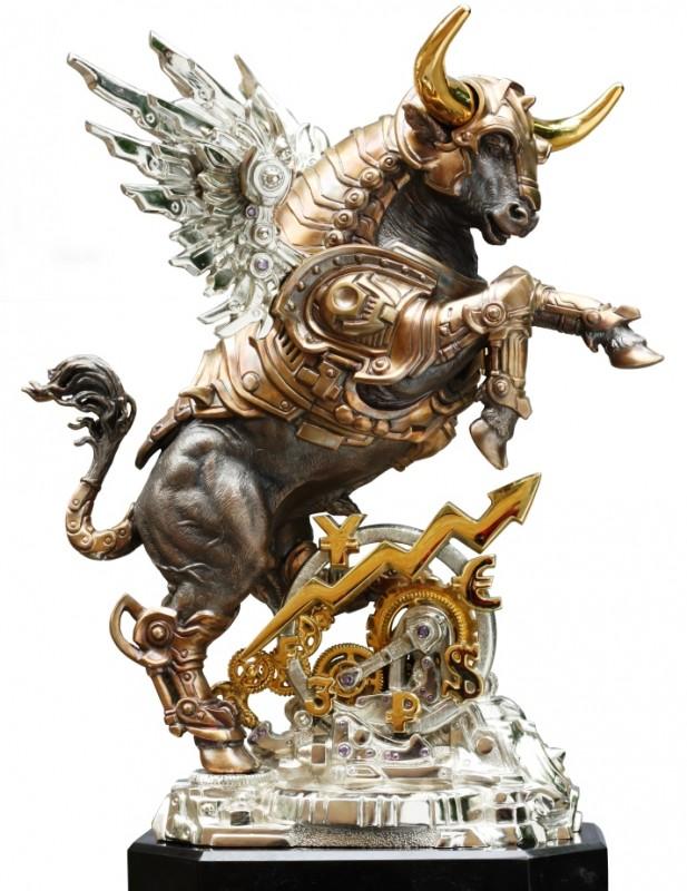 Золотой Телец (бронза, высота 32 см)