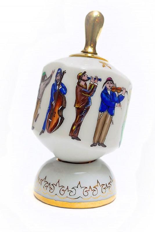 Волчок Еврейские музыканты