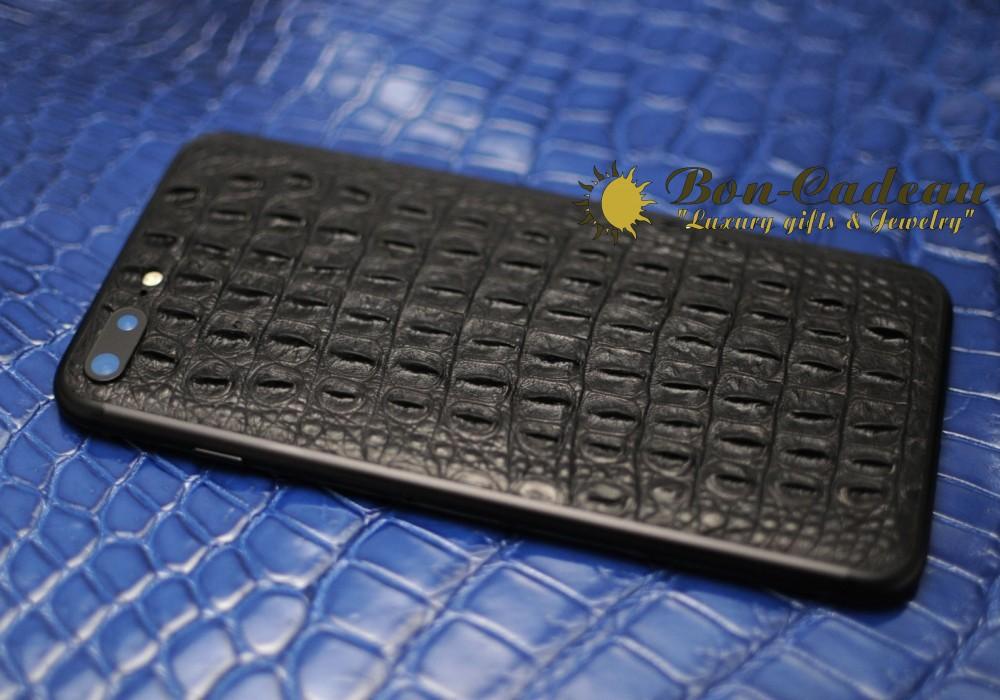 iPhone 7 plus с кожей крокодила