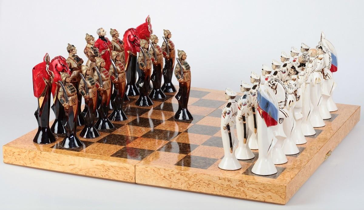 Военные шахматы «Гражданская война. Южный фронт»