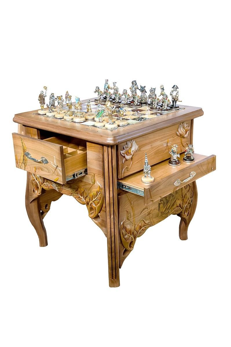 Шахматы «Золотой ключик»