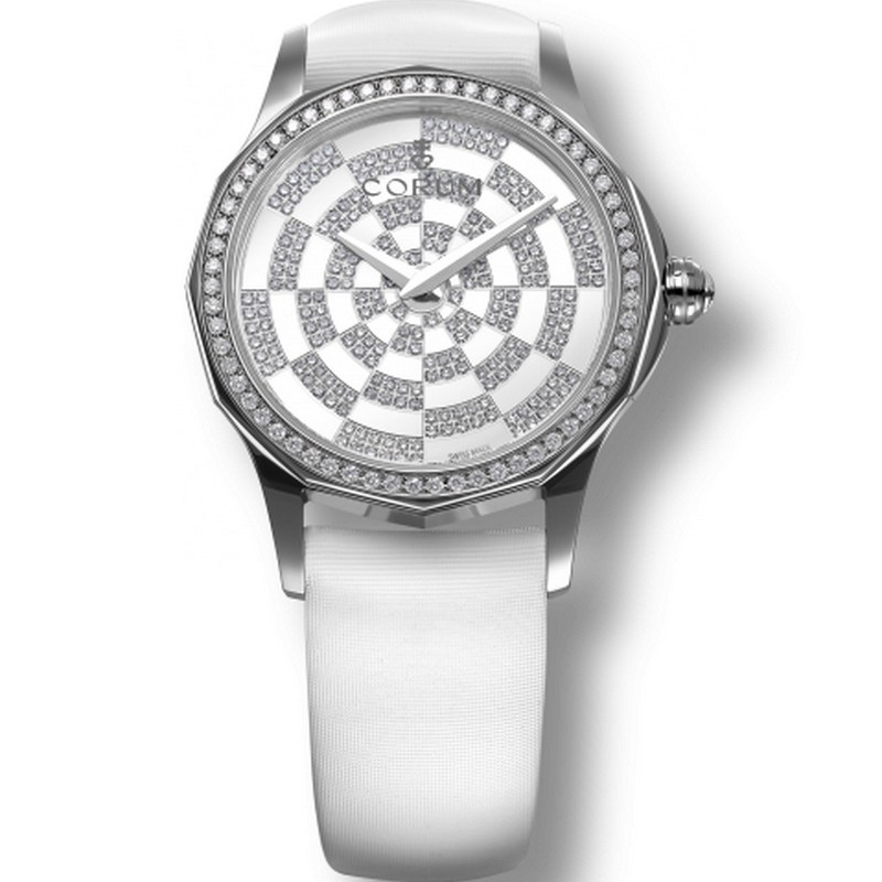 Corum Admiral's Cup Legend 32 Lady Quartz 020.101.47/0009 PK11