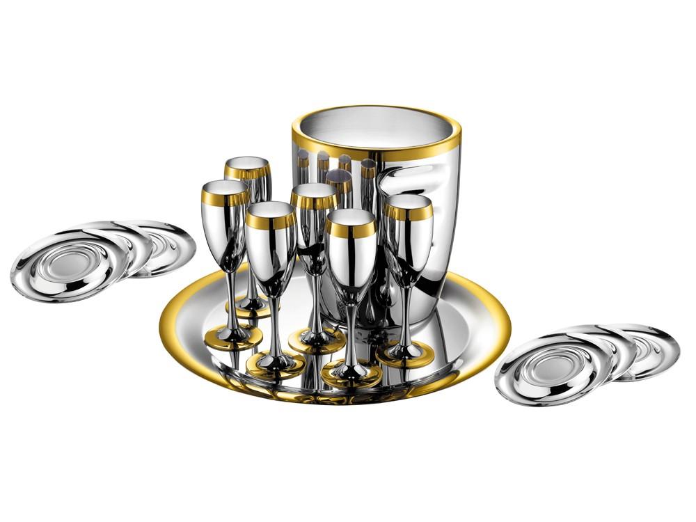 Набор для шампанского на 6 персон ZEPTER
