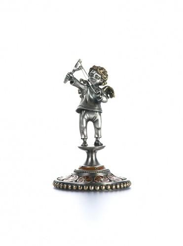Статуэтка из серебра Стрелец