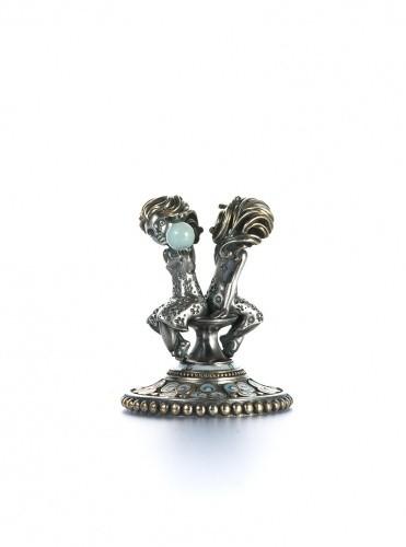Статуэтка из серебра Близнецы