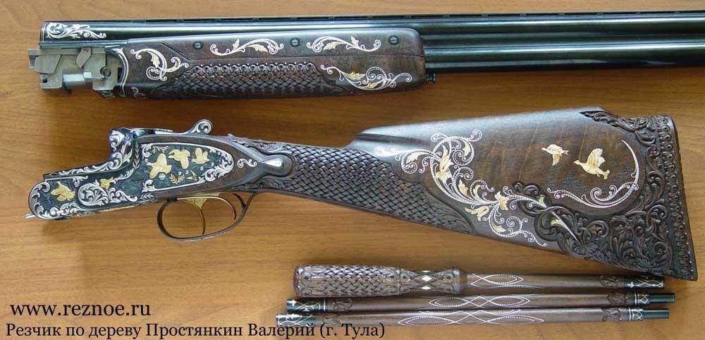 Дорогое охотничье ружьё МЦ-109