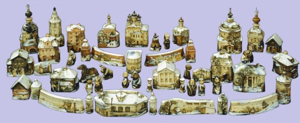 Фарфоровый набор Старая Москва