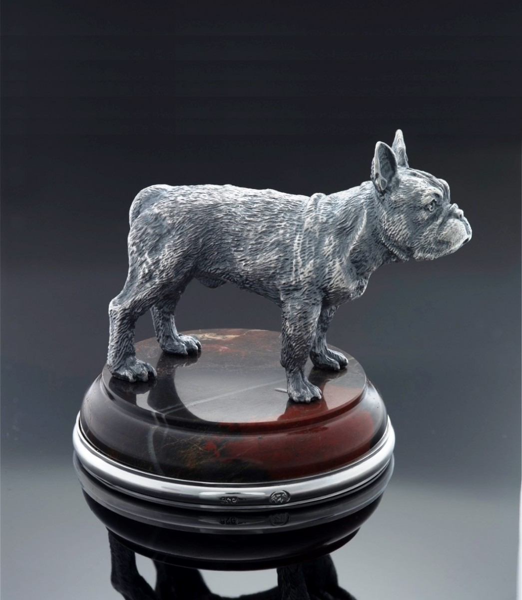Французский бульдог (серебро)