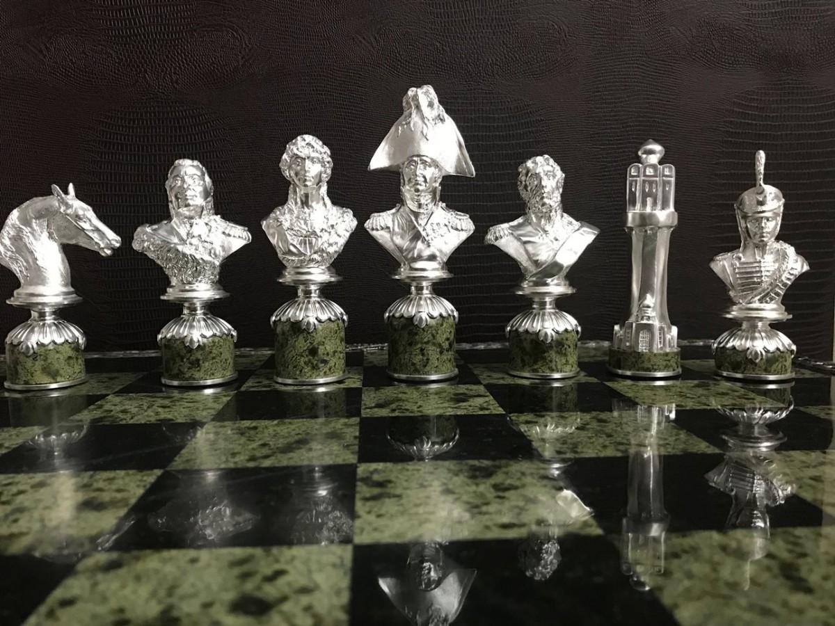 Шахматы с портретным сходством 1812