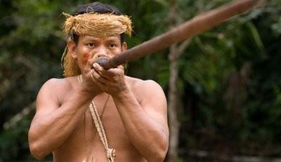 Духовое ружьё амазонских индейцев