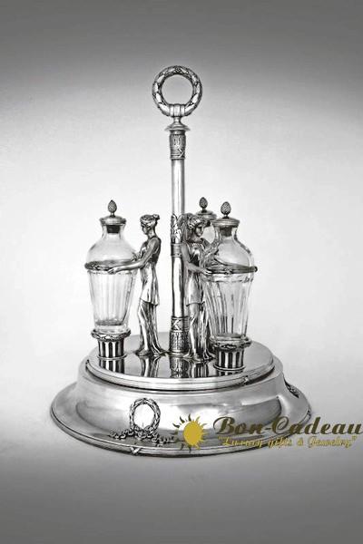 Набор для специй (серебро, хрусталь)