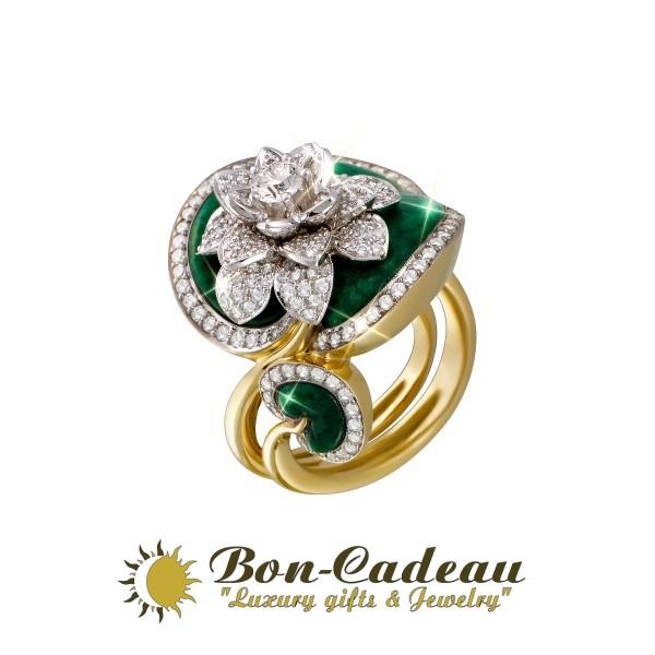 Кольцо «Водяная лилия»