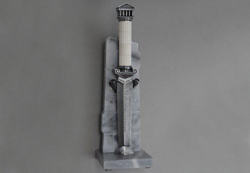 """Стильный подарок нож """"Греческий храм"""""""