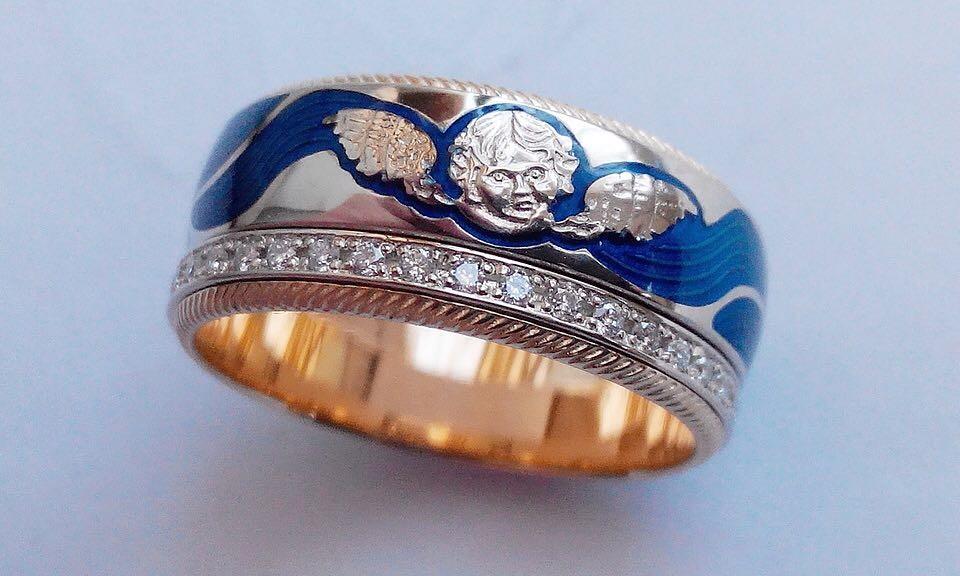 Кольцо Ты мой ангел