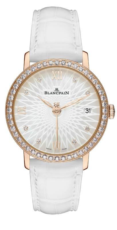 Blancpain Women Ultraplate Date 6604-2944-55A