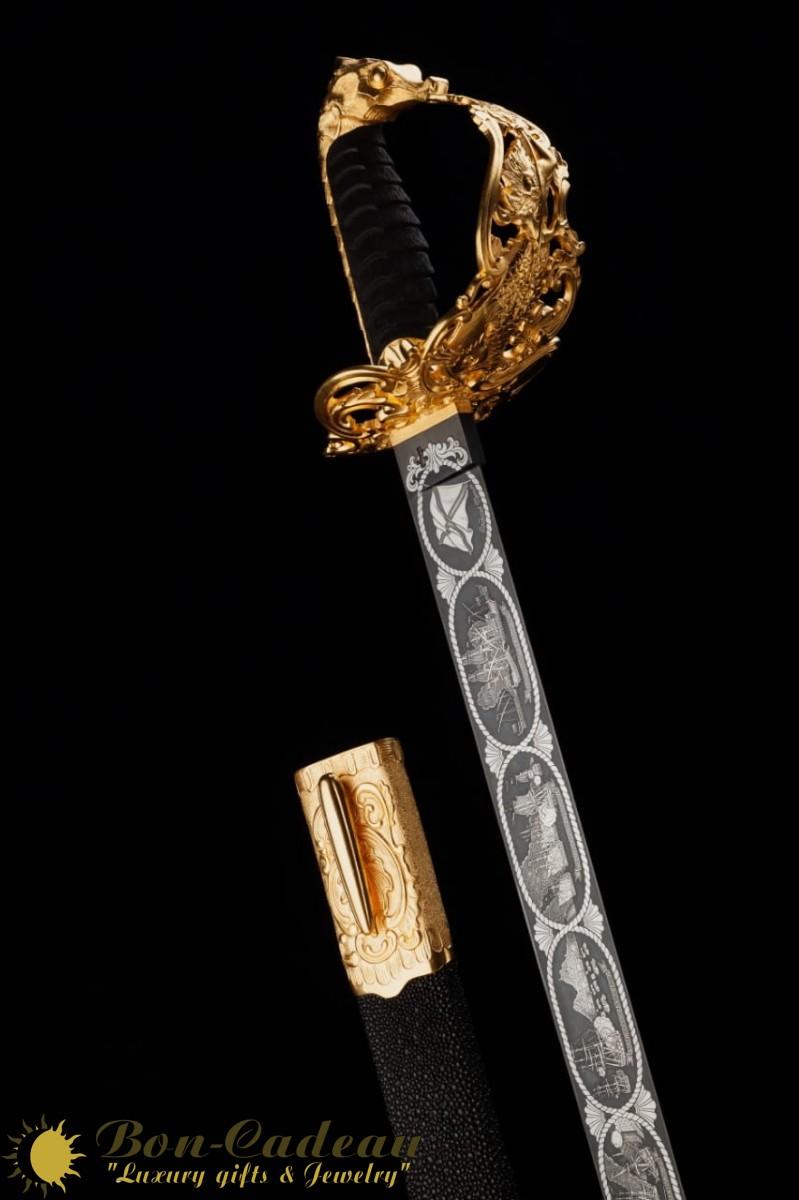 Самый дорогой меч в мире фото