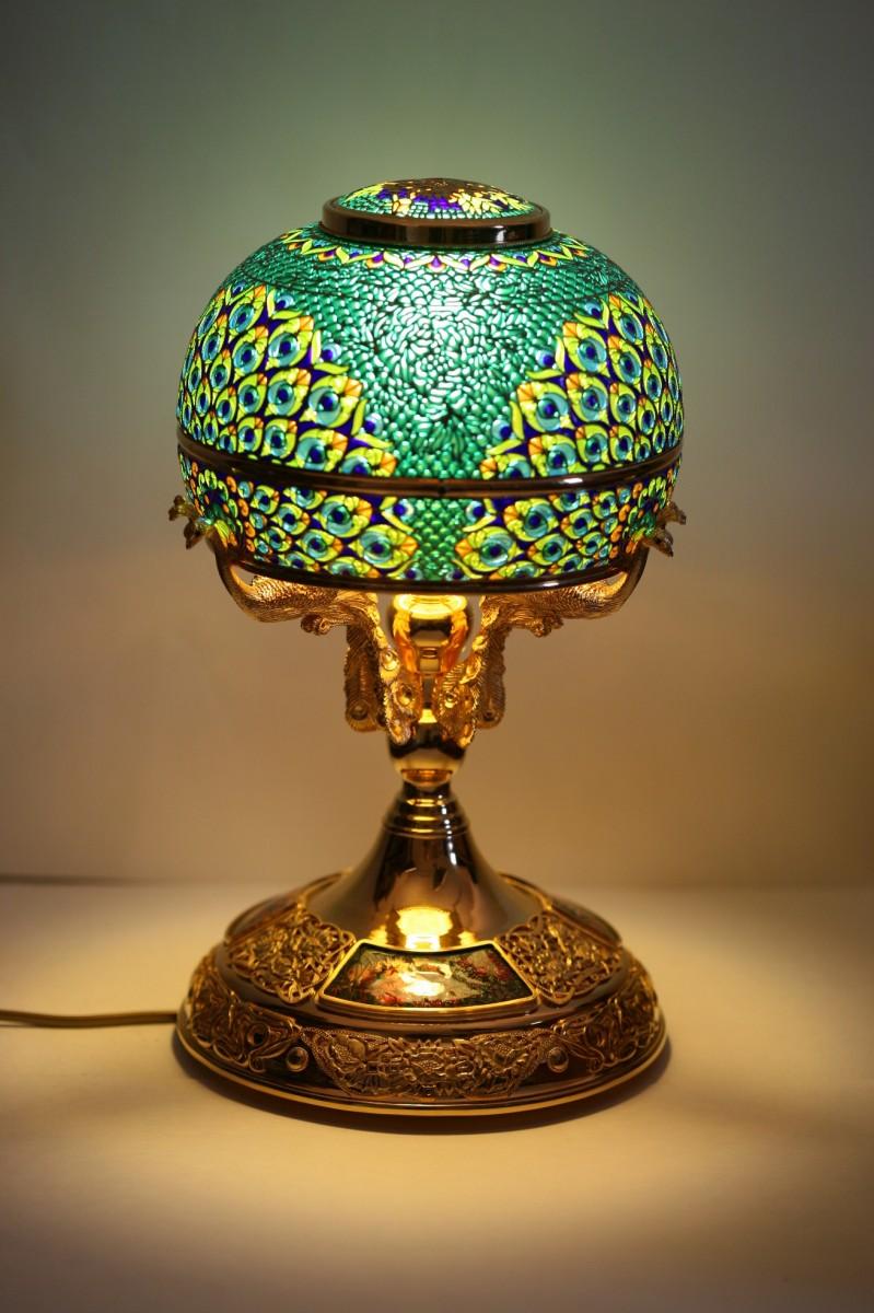 Лампа Павлин