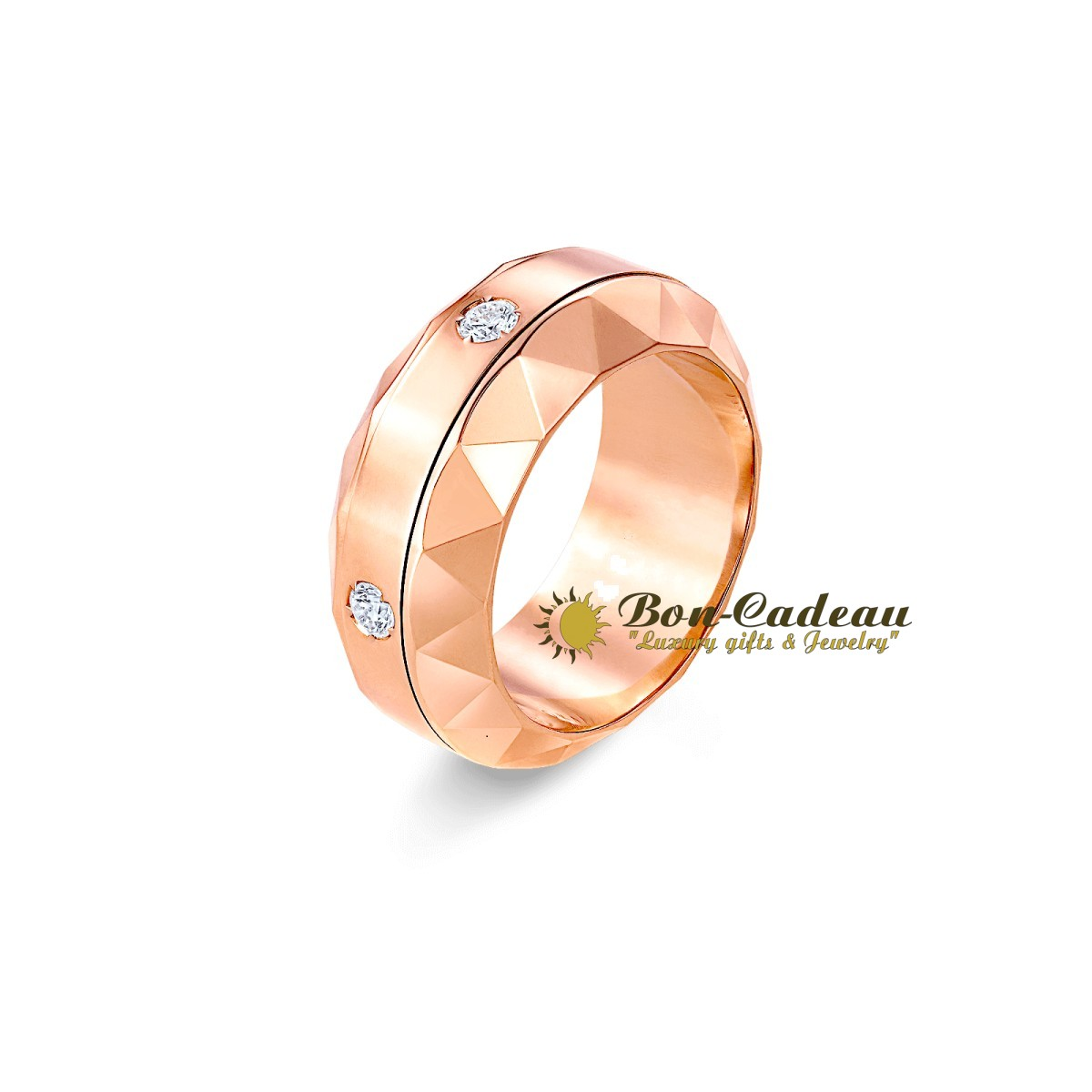 Вращающееся кольцо с крутящимся центром