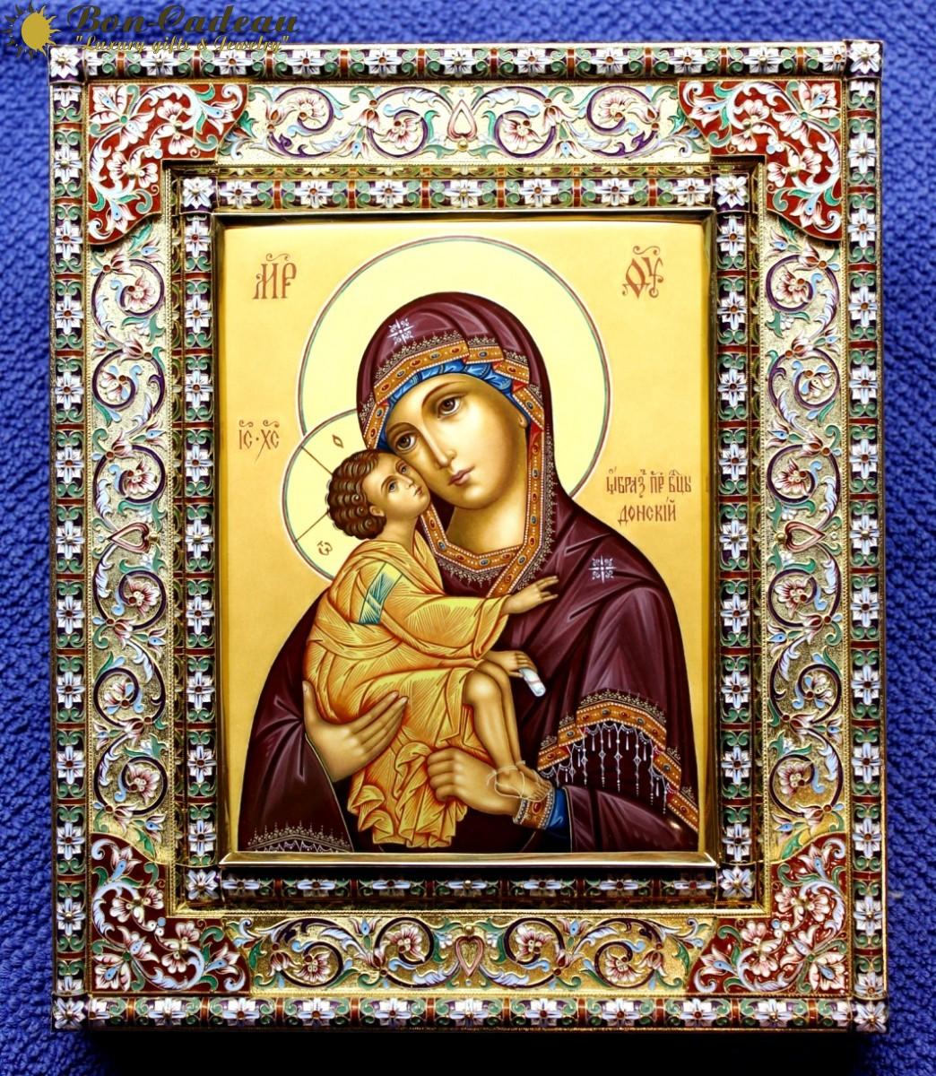 Икона Божья Матерь Донская (27 см)