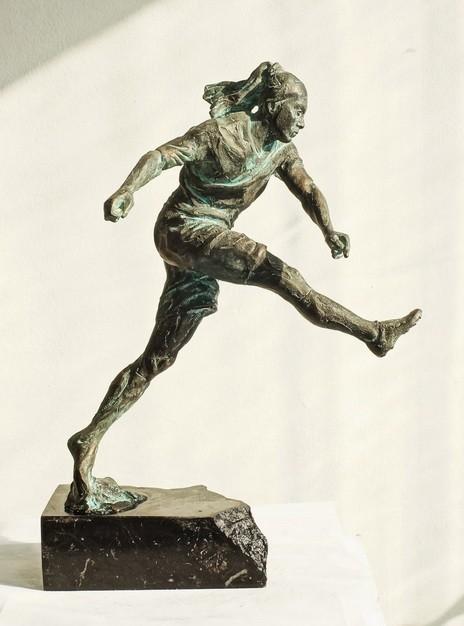 Скульптура из бронзы Ronaldinho