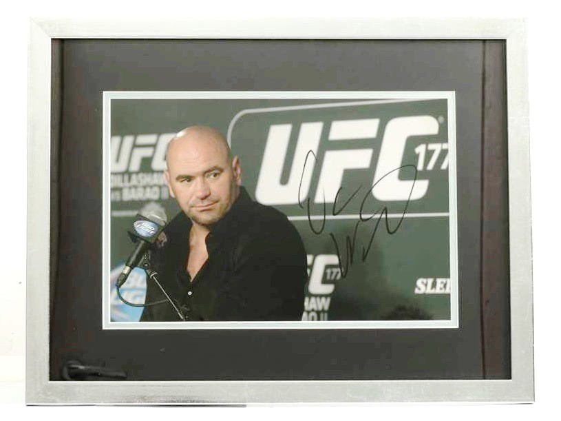 Подпись президент UFC