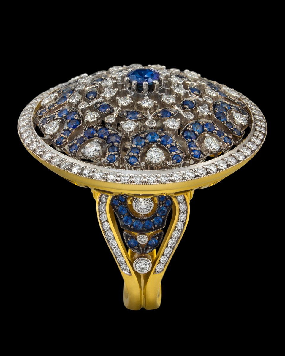 Кольцо «Пятая чакра»