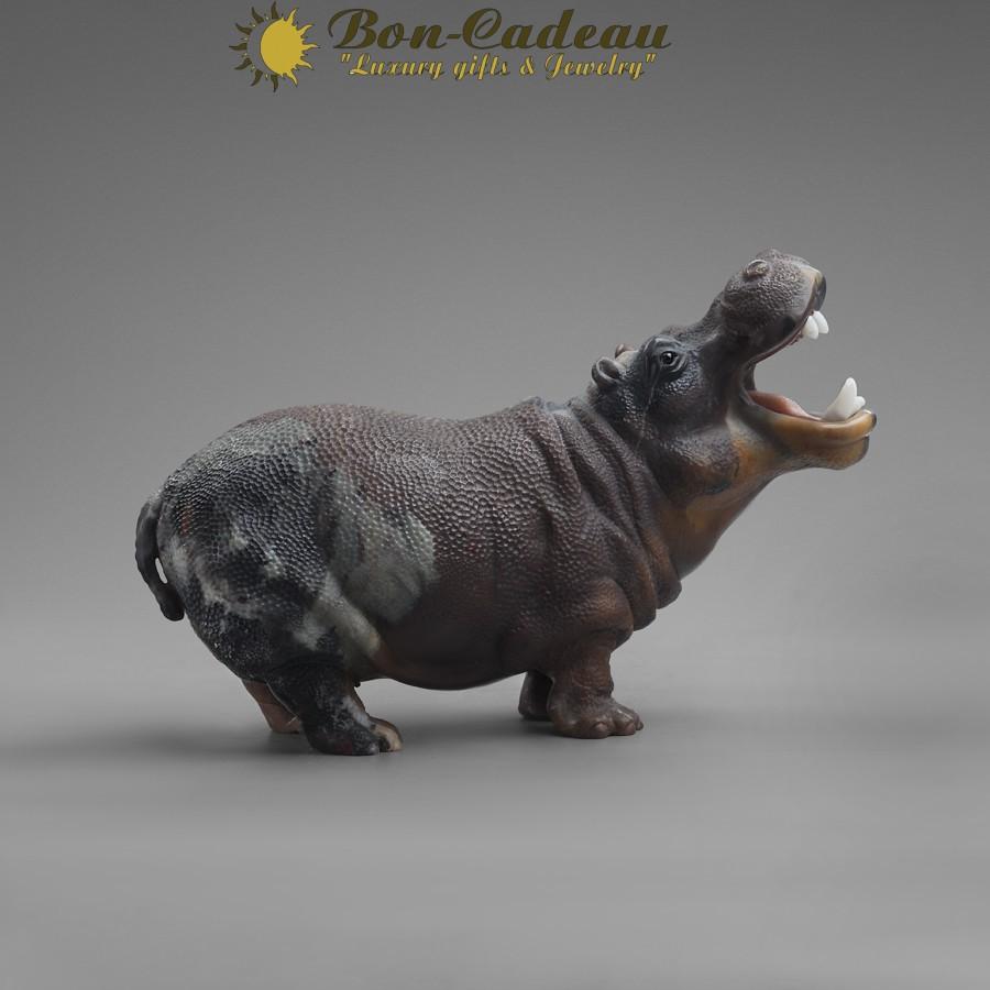 Бегемот (яшма) 11 см