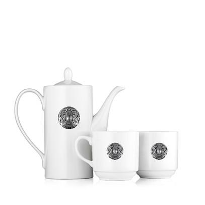 Фарфоровый чайный набор «Казахстан»