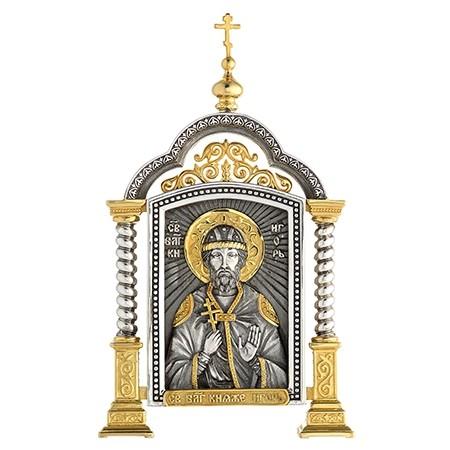 Парадная икона «Святой Игорь»
