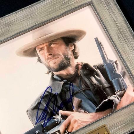 Автограф Клинта Иствуда