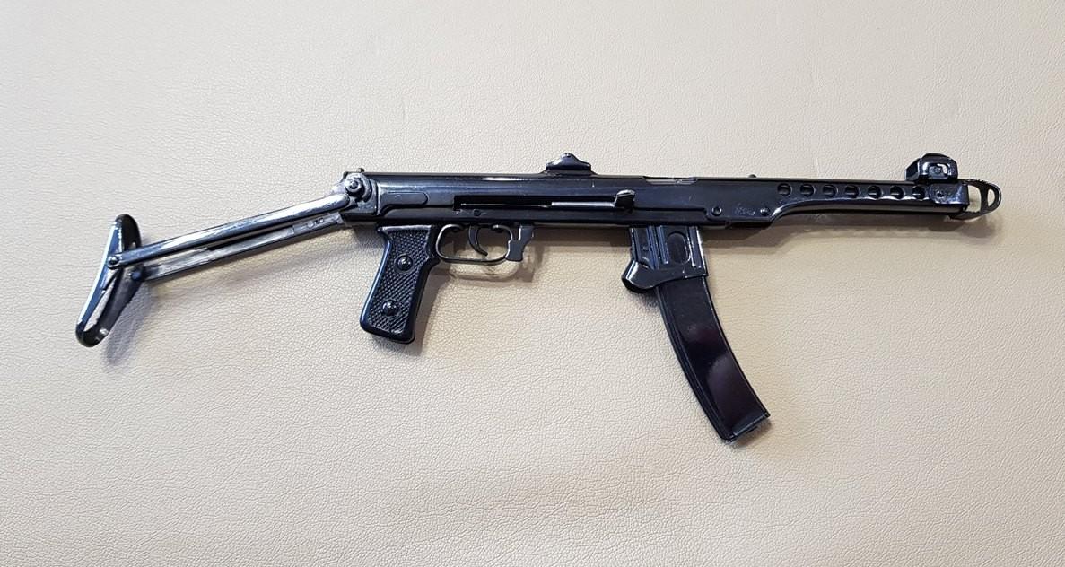 Пистолет-пулемёт Судаева (ППС) 1:4
