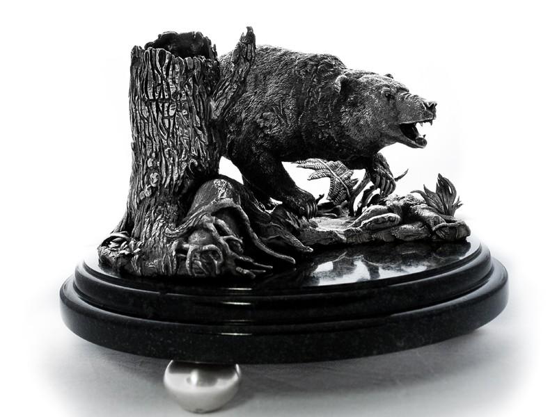 Карандашница Медведь