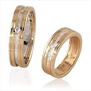 a99b52c45666 Обручальные кольца с бриллиантами