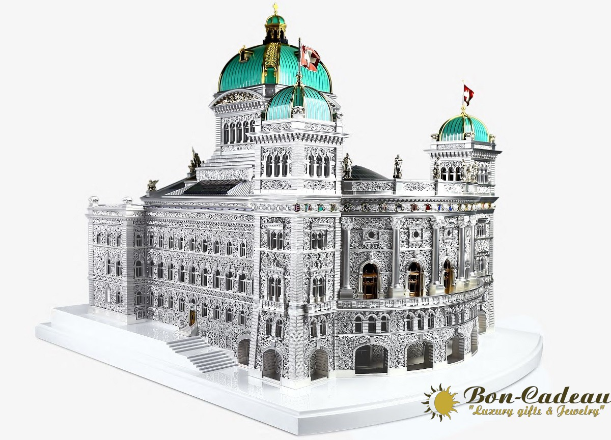 Модель здания парламента Берна Бандесхауз