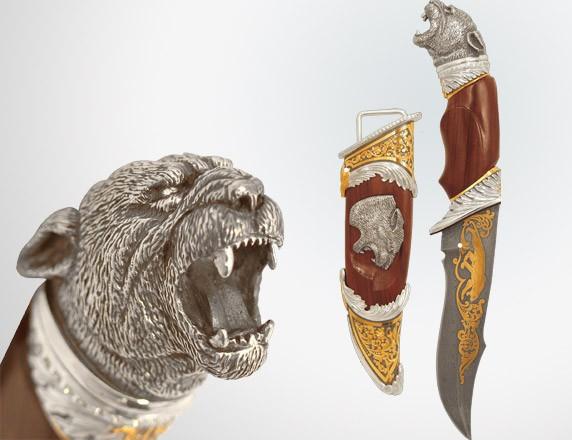 """Подарочный нож """"Пантера"""""""